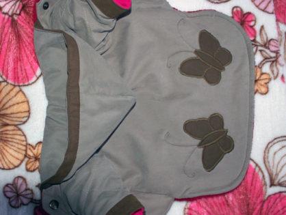 Курточка с бабочками